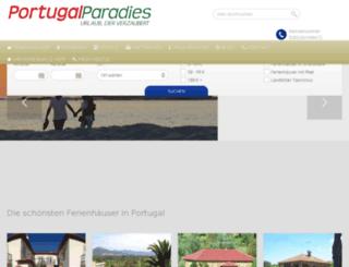 portugalparadies.com screenshot