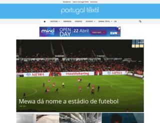 portugaltextil.com screenshot