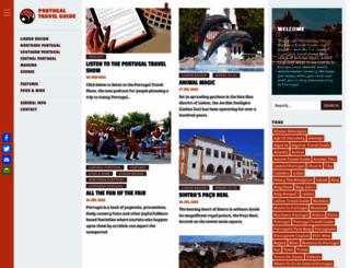 portugaltravelguide.com screenshot