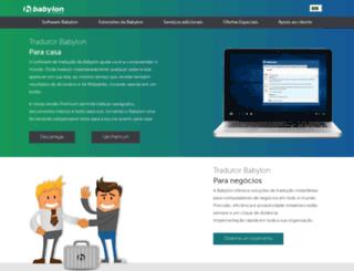 portugues.babylon.com screenshot