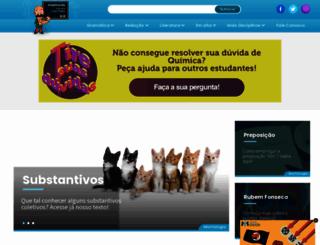 portugues.com.br screenshot