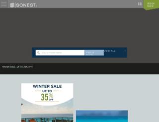 portugues.sonesta.com screenshot