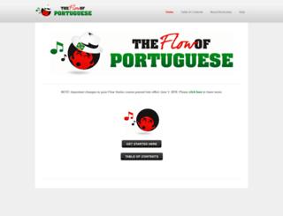 portuguese.mimicmethod.com screenshot