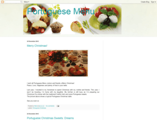 portuguesemenu.blogspot.com screenshot