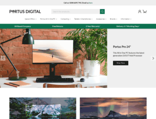 portusdigital.com screenshot