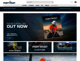portwest.eu screenshot