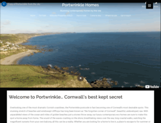 portwrinkle-homes.com screenshot