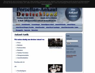 porzellan-ankauf-deutschland.de screenshot