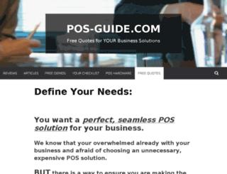 pos-guide.com screenshot