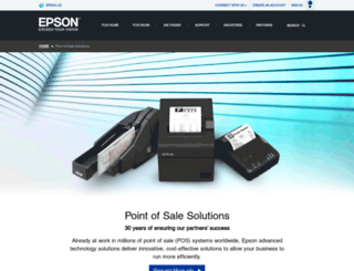 pos.epson.com screenshot