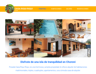 posadacasariquiriqui.com screenshot