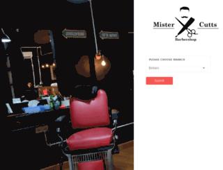 posbeta.mistercuttsbarbershop.com screenshot