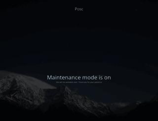 posc.org screenshot