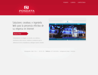 posdata.net screenshot