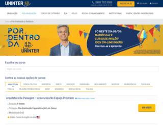 posead.grupouninter.com.br screenshot