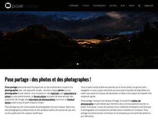 posepartage.fr screenshot
