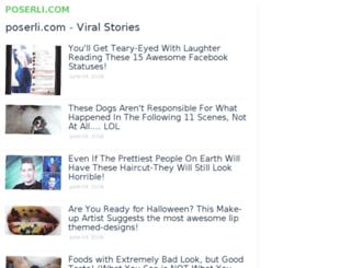 poserli.com screenshot