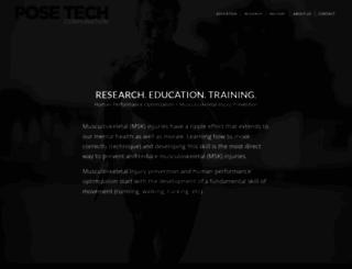 posetech.com screenshot