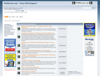 posforum.net screenshot