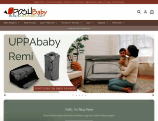 poshbaby.com screenshot