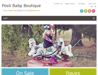 poshbabystore.com screenshot