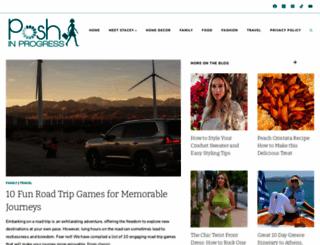 poshinprogress.com screenshot