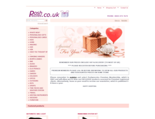 poshprezzies.co.uk screenshot