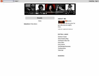poshsdailyminute.blogspot.com screenshot