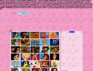 poshtoons.com screenshot