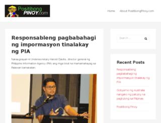 positibongpinoy.com screenshot