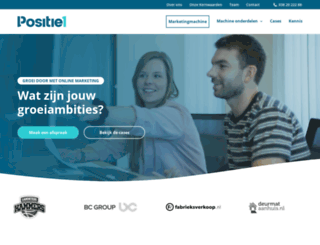 positie1.nl screenshot