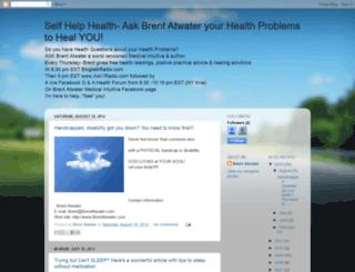 positiveattitudesforhealthchallenges.blogspot.com screenshot