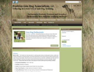 positivegundogassociation.com screenshot