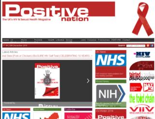 positivenation.co.uk screenshot