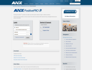 positivenetworks.net screenshot