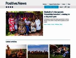 positivenews.org.uk screenshot