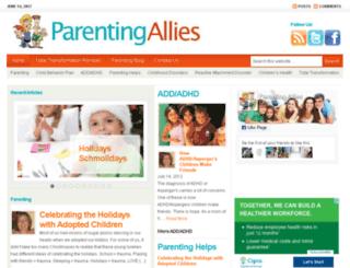 positiveparentingskills.com screenshot