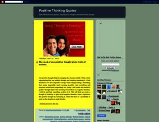 positivequotes.blogspot.com screenshot