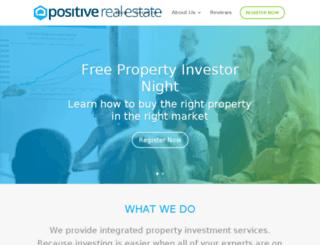 positiverealestatecoaches.com.au screenshot