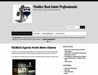 positiverealestateprofessionals.com screenshot