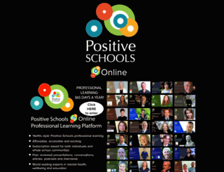 positiveschools.com.au screenshot