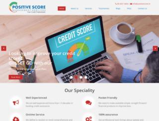 positivescore.in screenshot