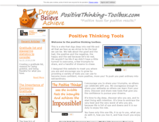 positivethinking-toolbox.com screenshot