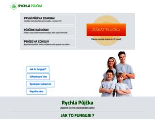 poskytnutapujcka.cz screenshot