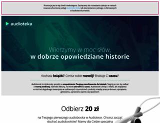 posluchaj.audioteka.pl screenshot
