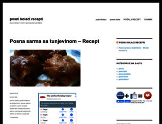 posnikolacirecepti.com screenshot