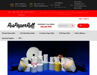 pospaperroll.com screenshot
