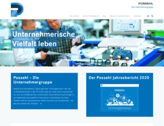 possehl.de screenshot