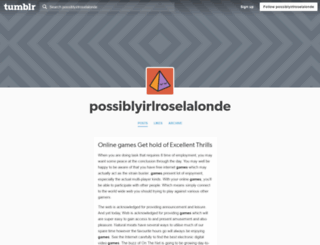 possiblyirlroselalonde.tumblr.com screenshot