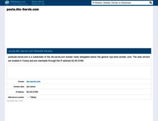 posta.ats-servis.com.ipaddress.com screenshot